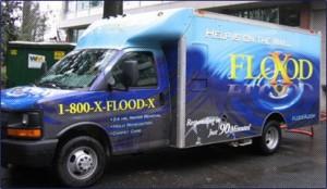 Water Damage Vacuum Truck